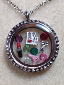 Hairdresser locket