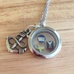 Navy Wife locket