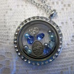 swimmer locket