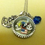 Navy mom locket