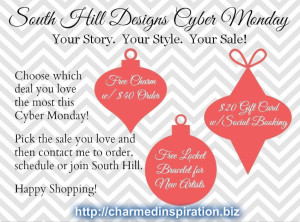 South Hill Designs Cyber Monday Deals