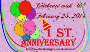 South Hill Designs Launch Anniversary