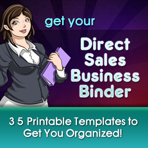 Direct Sales Business Binder