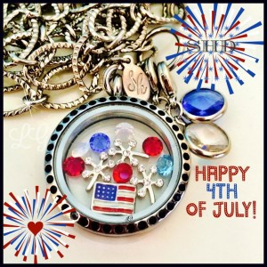 South Hill Designs Fourth of July Locket