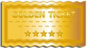 South Hill Designs Golden Ticket