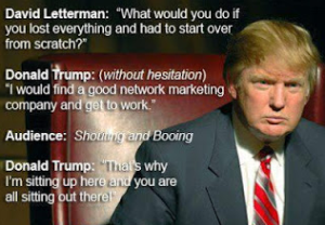 Donald Trump and Network Marketing