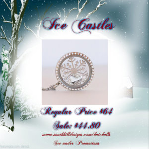 South Hill Designs Ice Castles Locket