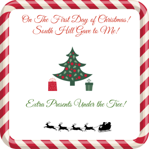 South Hill Designs 12 Days of Christmas