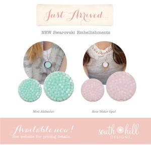 South Hill Designs Spring Embellishments