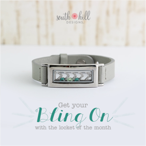 South Hill Designs March Locket
