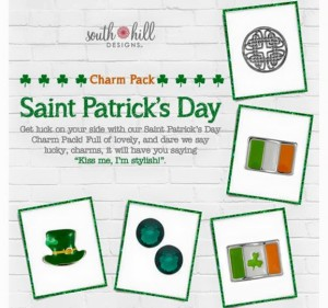 South Hill Designs St. Patricks Day Charm Pack