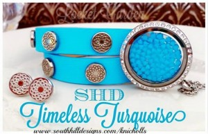 South Hill Designs Turquoise